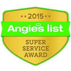 The Floor Mart is a proud recipient of the 2015 Angie's List Super Service Award