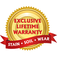 With our Lifetime Warranty on our broadloom carpet collections from Infinity Nylon Carpet Fiber™, Designer's Choice, Creative Elegance, Softique™, Signature Style and Royal Stainmaster® we know you'll be happy with your new floor for years to come.